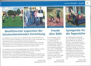 "Bericht Lebenshilfe Magazin ""Augenblick Mal"""