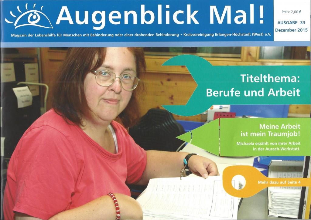 Lebenshilfe Magazin Cover 2015