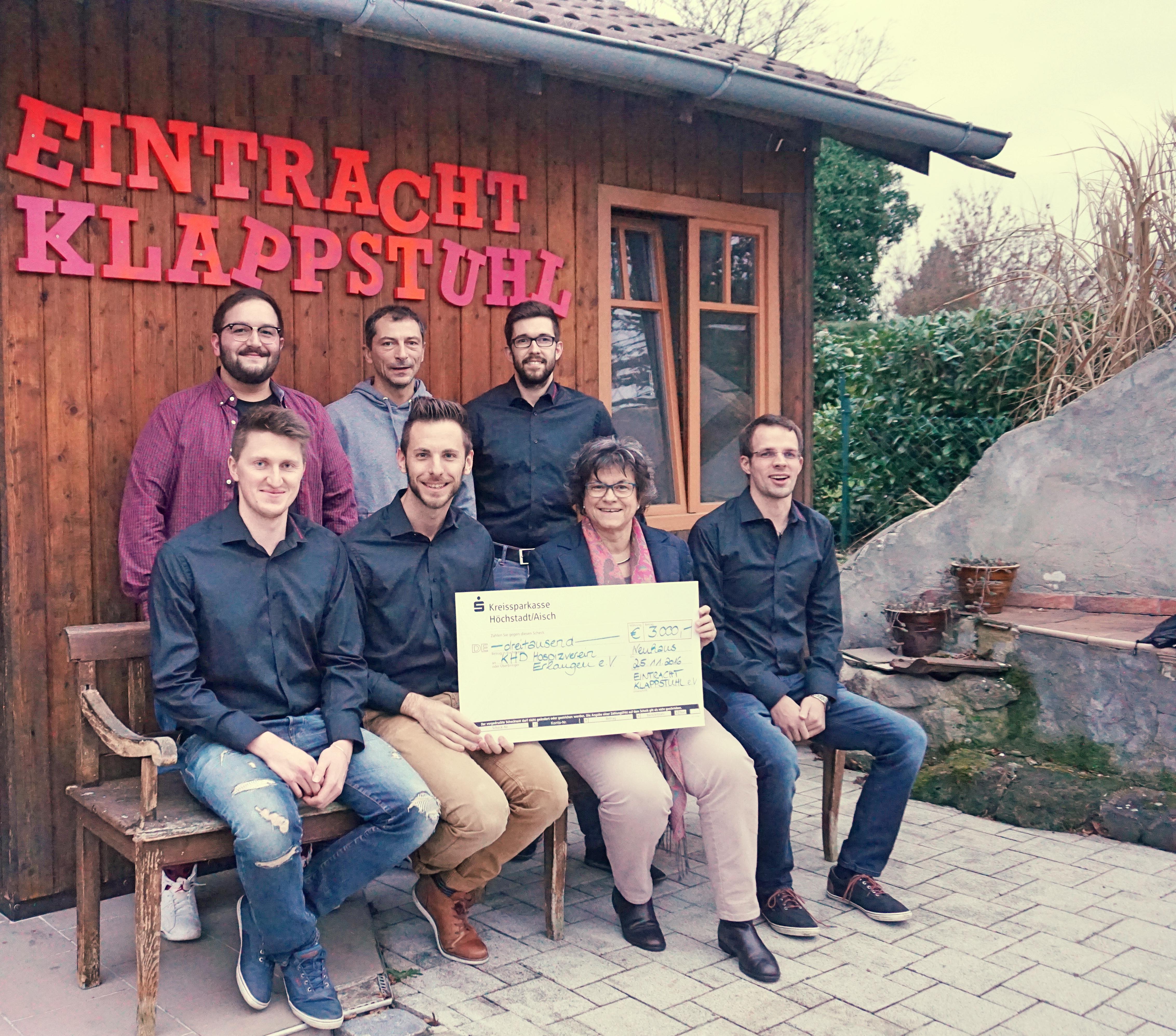 Spendenergebnis 2016:  3500 Euro
