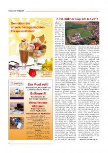Kreislaufmagazin Voranküngigung Cup 2017