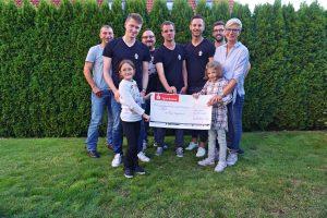Spendenübergabe – 4350,00 Euro für Nele